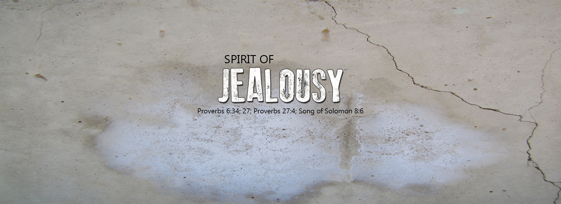 Dealing wtih Jealousy: Growing in Godliness Series ...