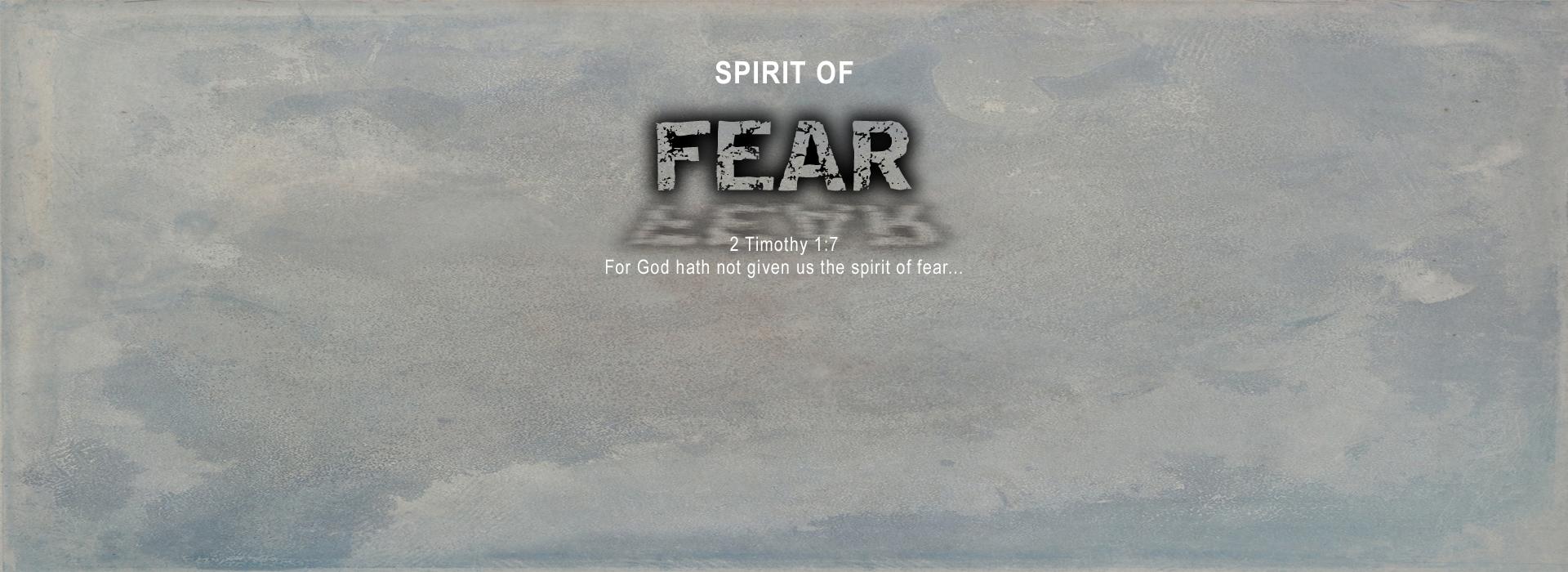 Bible-Study---Spirit-of-Fear
