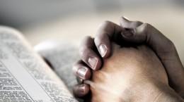 Bible - Praying hands