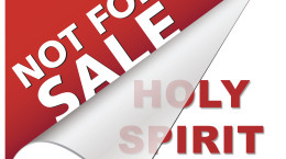 Holy Spirit Not For Sale